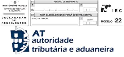 ATENÇÃO | DECLARAÇÃO DE RENDIMENTOS – IRC -Mod. 22 | Adiada