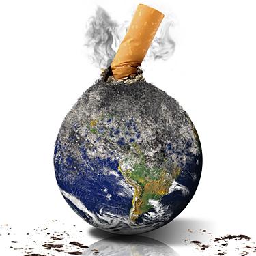   LEi para a redução do impacto das pontas de cigarros, charutos ou outros cigarros no meio ambiente.